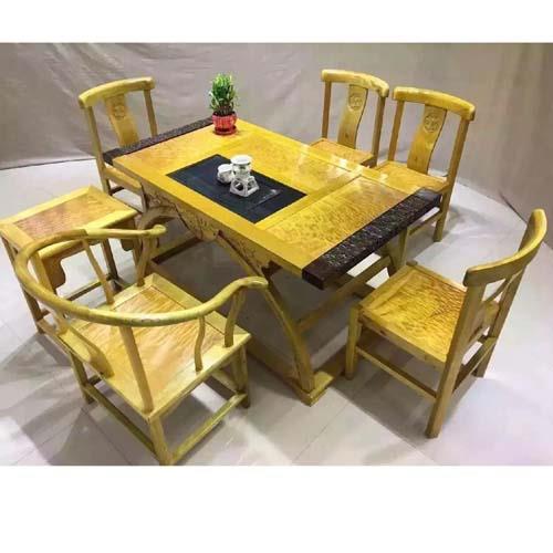 金丝楠木家具之泡茶桌七件套