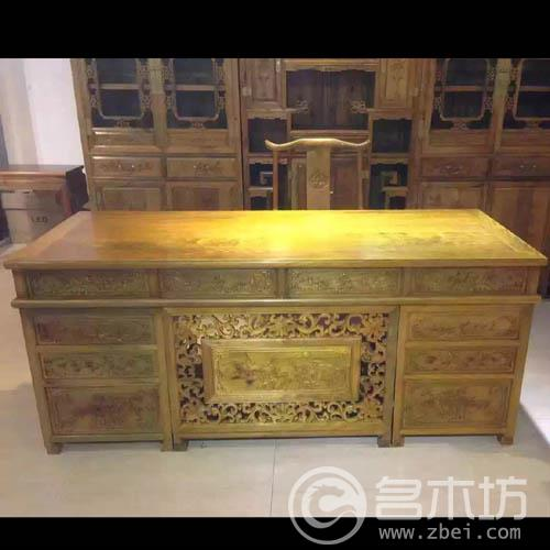 金丝楠木家具系列:办公桌