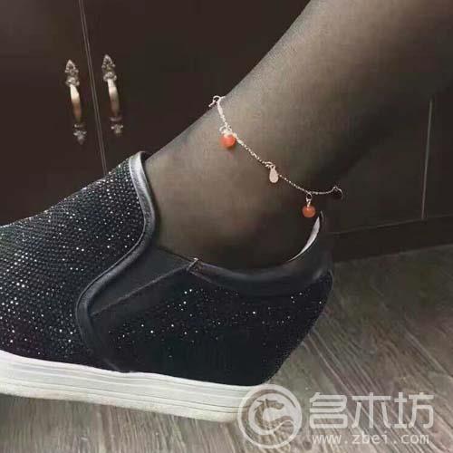 南红玛瑙脚链,手链