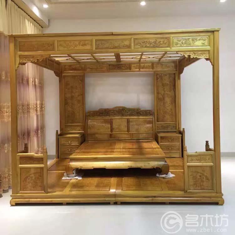 金丝楠木家具之大床