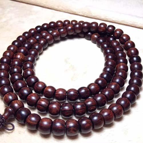 【沉水藏品】海黄紫油梨8-10*108颗苹果珠
