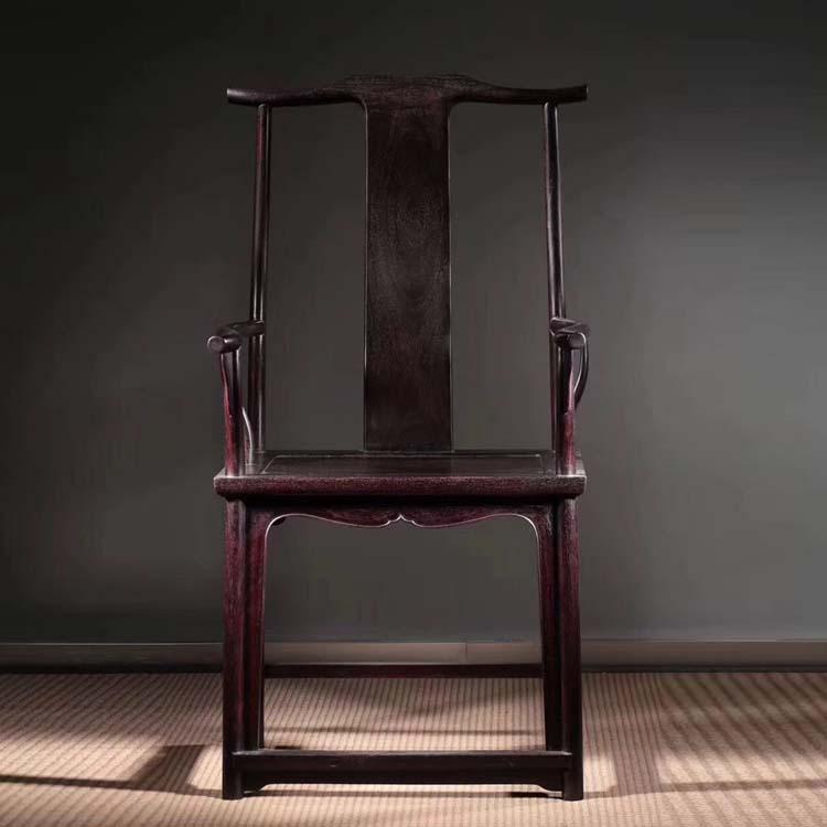 血檀苏式官帽椅