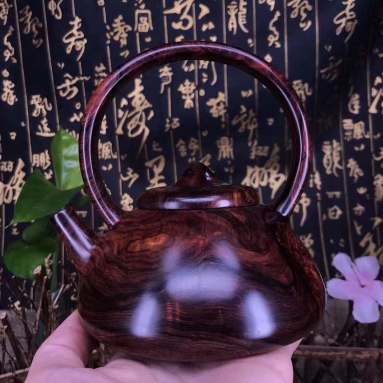 海南紫油梨老料【石瓢.提梁壶】