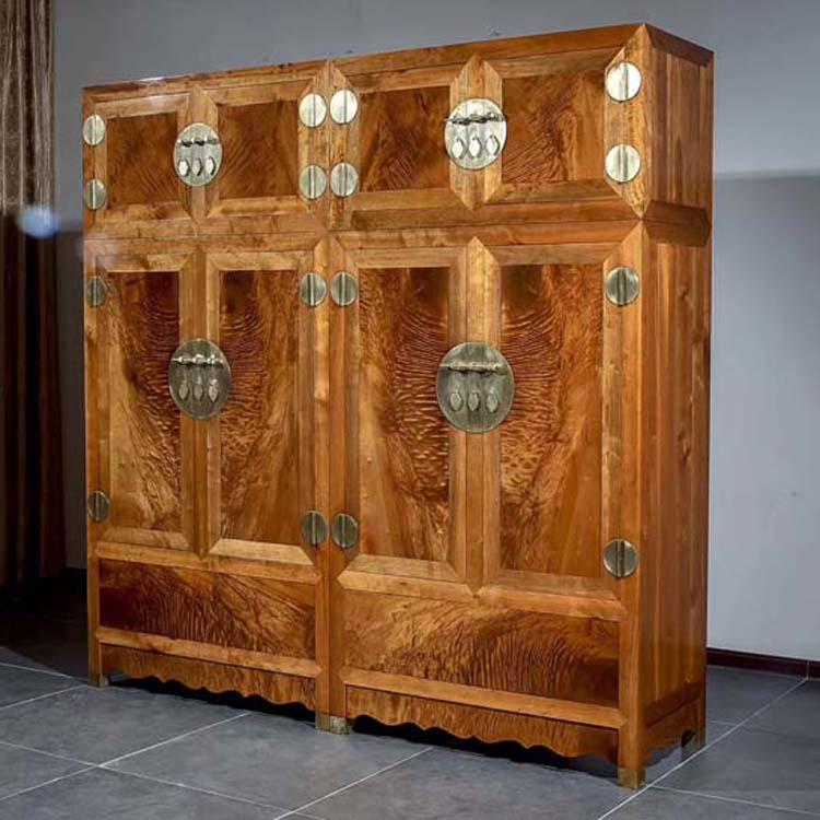 金丝楠木顶厢柜