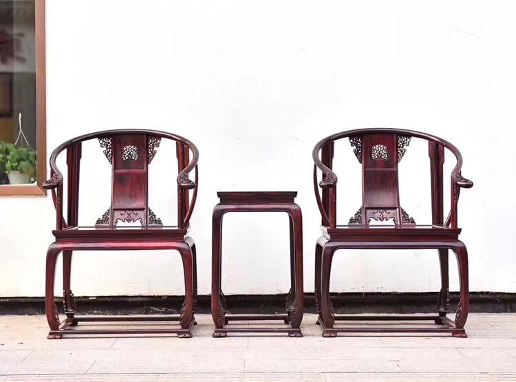 印度小叶紫檀(皇官椅)