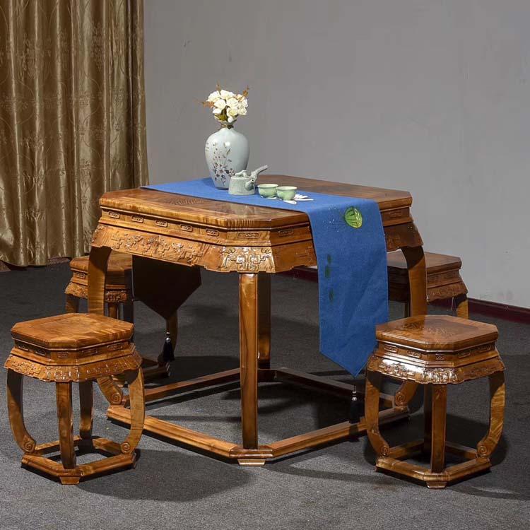 金丝楠木八仙桌/八角桌