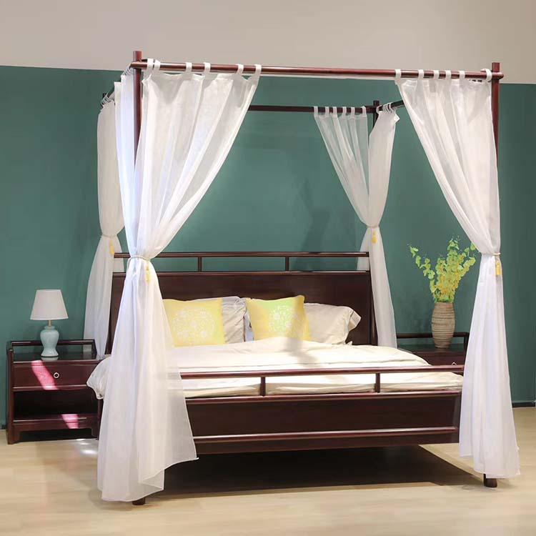 赞比亚血檀新中式架子床