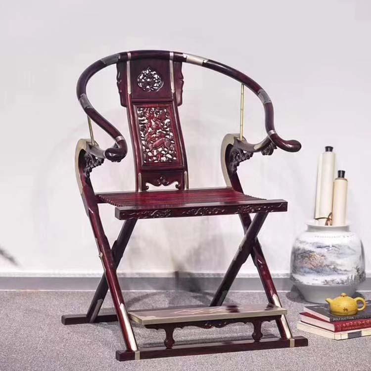 印度小叶紫檀头把交椅