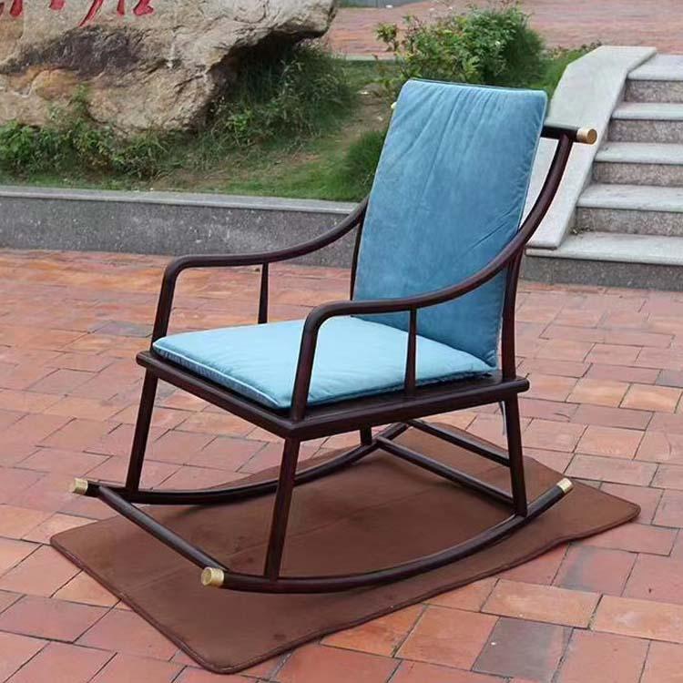 赞比亚血檀新款摇椅