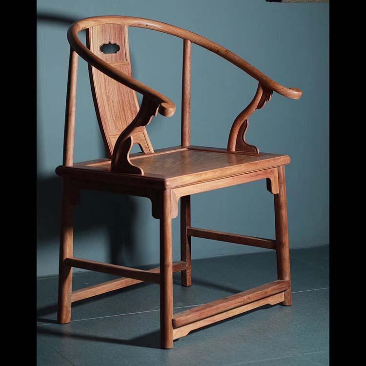 缅甸花梨制 安思远圈椅