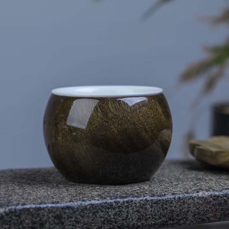 金丝楠木乌木阴沉木【主人杯】茶杯