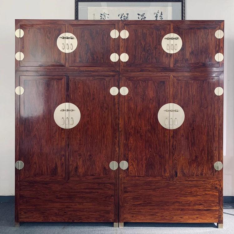 海南黄花梨明式家具之顶箱柜衣柜